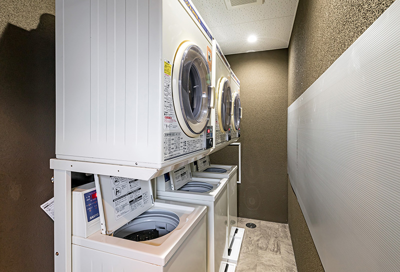 Coin Laundry (2nd floor)